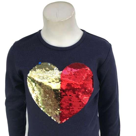 detalle IDO conjunto legging cuadros y camiseta corazón