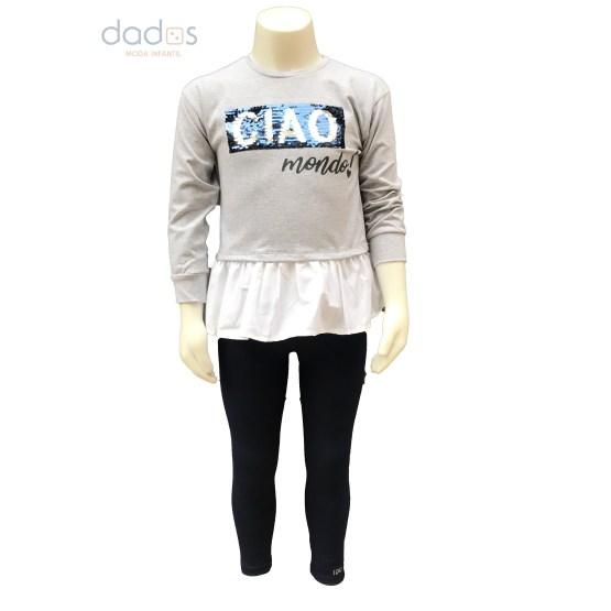IDO conjunto legging y sudadera ciao