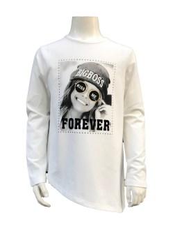 IDO camiseta niña cruda manga larga