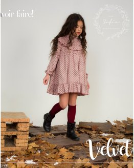 Catálogo Para Sofía colección Velvet vestido
