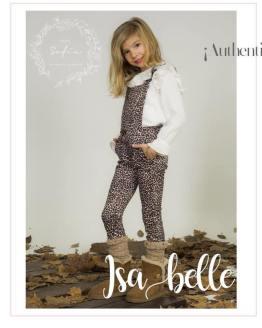 Look Para Sofía colección Isabelle mono y blusa estampado animal