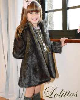 Lolittos colección Dumbbo abrigo de pelo