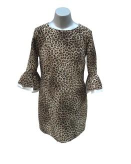 Monnalisa vestido animal print