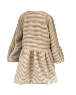 Espalda Coco Acqua abrigo de pelo marrón