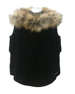 Bella Bimba colección Amatista capa con capucha y pelo negro