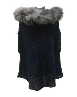 Bella Bimba colección Amatista capa lurex azul