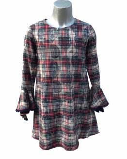 Bella Bimba colección Pirita vestido cuadros