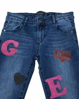 Guess pantalón tejano letras detalle