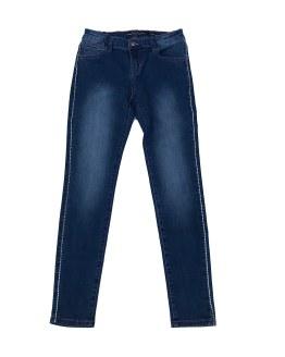 Guess pantalón tejano con franja lateral cristales