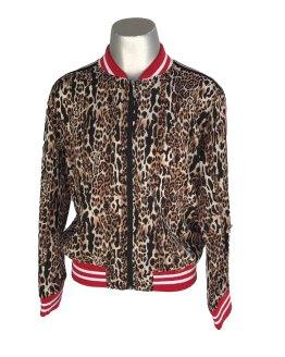 Jaimè chaqueta animal print tela