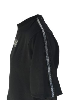 Jaimè blusa negra en crepé