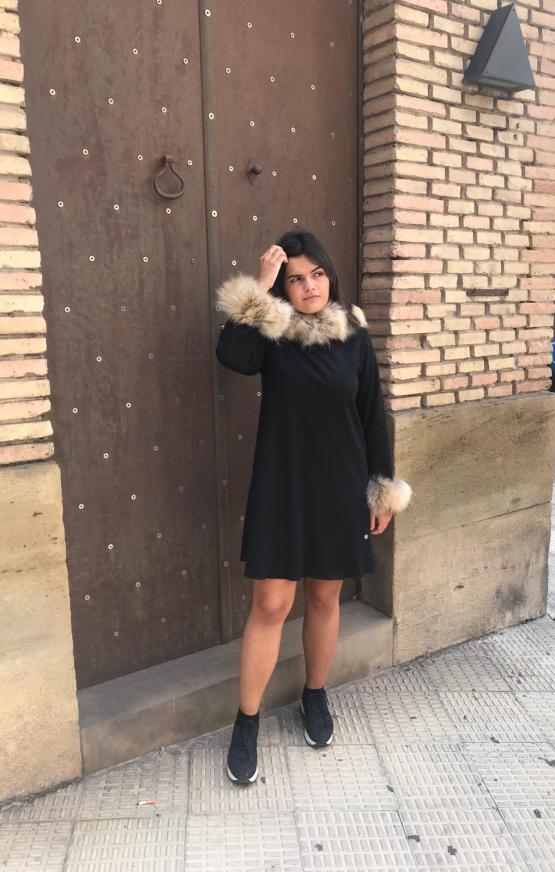 Look Bella Bimba colección Ópalo vestido evasé