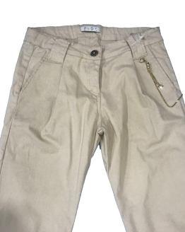 Detalle Elsy pantalón crudo estilo cargo