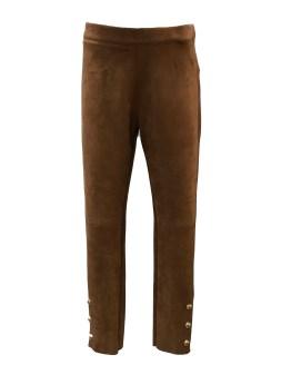 Custo Barcelona pantalón marrón botones dorados