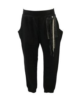 Fun&Fun pantalón negro tiras en cintura