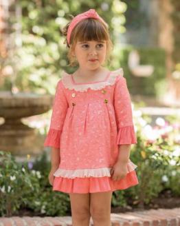 Dolce Petit vestido coral con corazones catálogo