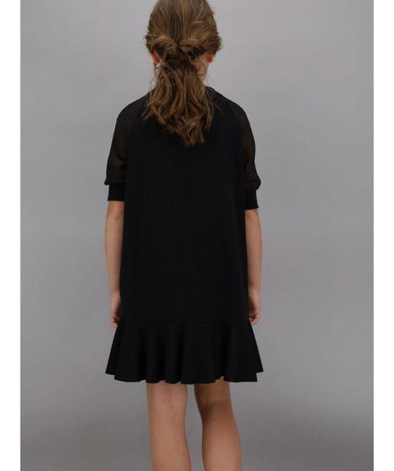 Monnalisa vestido negro just be cool catálogo