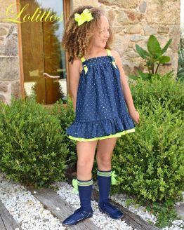 Lolittos colección Star vestido recto