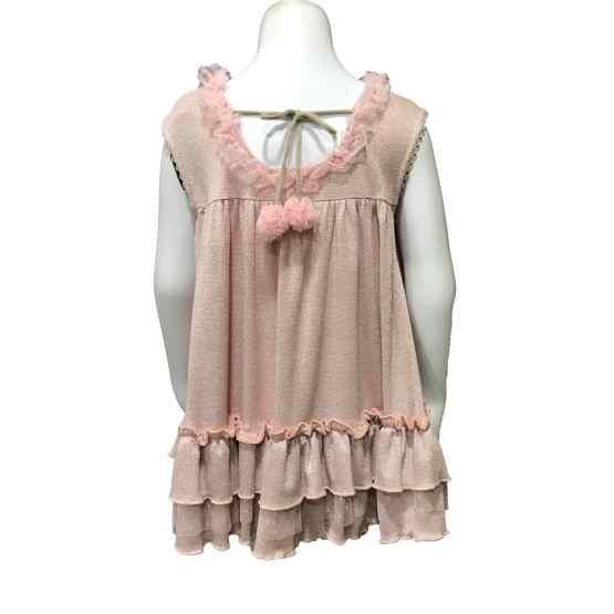 Espalda Lolittos colección Glamur vestido recto