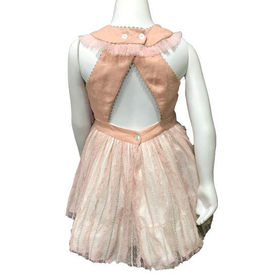 Espalda Lolittos colección Glamur vestido vuelo