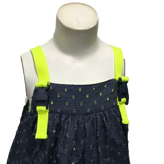 Detalle Lolittos colección Star vestido recto