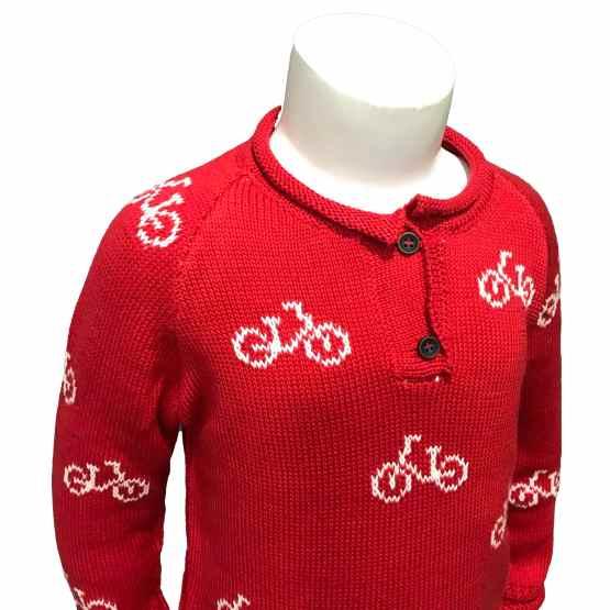 Detalle Lolittos colección Bike jersey niño