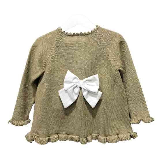 Espalda Lolittos colección Oro chaqueta larga niña