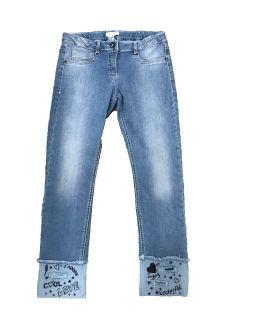 Elsy pantalón tejano azul claro