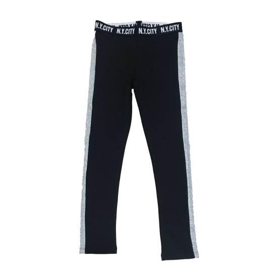 Pantalón IDO conjunto chica felpa pantalón y sudadera gris