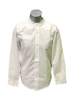 IDO camisa chico manga larga blanca