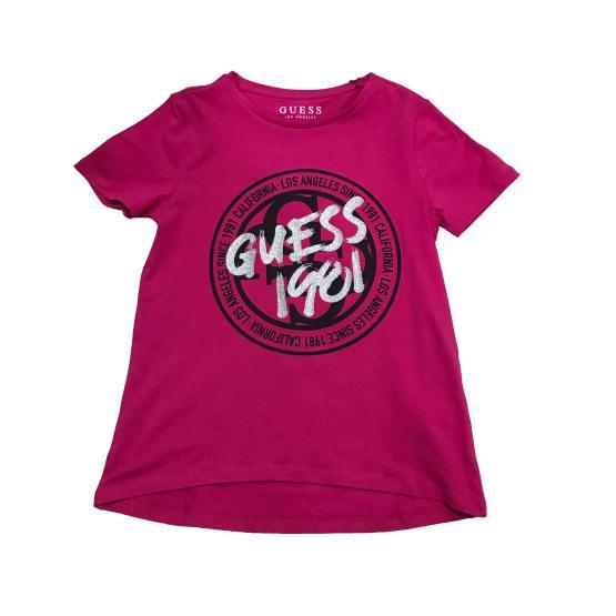 Guess camiseta chica logo redondo