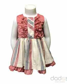 Dolce Petit vestido rayas con braguita
