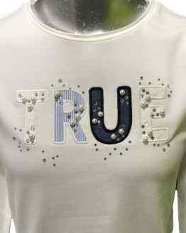 Detalle Sarabanda camiseta True