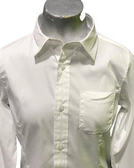 Detalle Sarabanda camisa blanca entallada