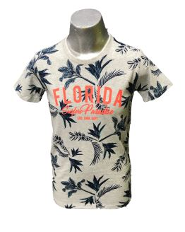 Cars Jeans camiseta estampado palmeras Florida