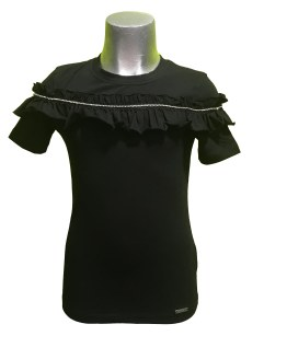 Jaimè blusa negra volante