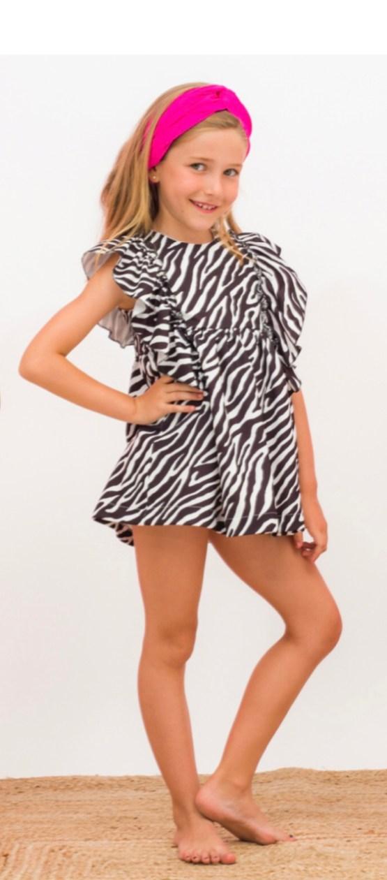 Para Sofía vestido Africa catálogo