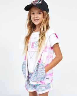 Guess camiseta chica California blanca catálogo