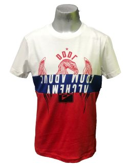 DIESEL camiseta tricolor DDDR