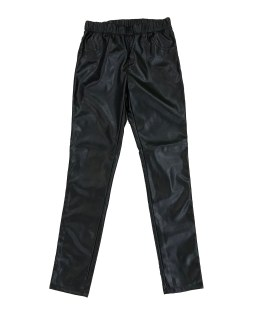 GUESS pantalón chica negro brillo