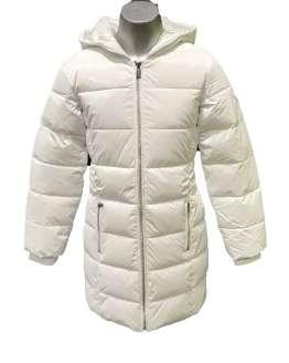 Guess abrigo chica blanco