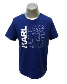 Karl Lagerfeld chico camiseta azulona