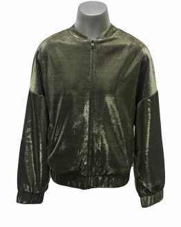 Karl Lagerfeld chaqueta dorada