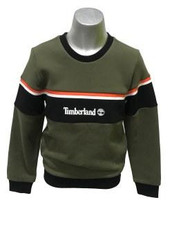 Timberland sudadera verde y negra
