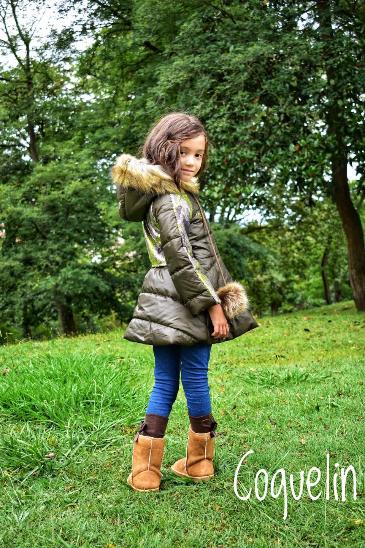 Catálogo Coquelin abrigo verde y camuflaje