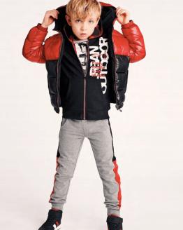 IDO chaquetón chico rojo y negro reversible catálogo