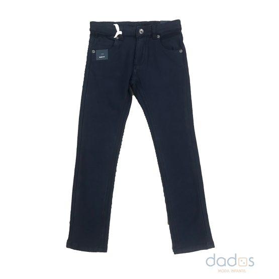IDO pantalón felpa niño azul marino