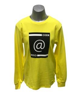 Sarabanda camiseta amarilla manga larga