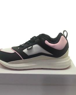 Karl Lagerfeld zapatillas blancas, negras y rosas