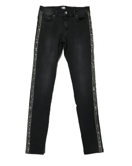 Karl Lagerfeld pantalón vaquero chica gris elástico